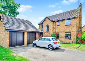 Thumbnail 4 bed detached house for sale in Tabard Gardens, Newport Pagnell