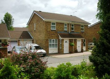 Thumbnail 2 bed semi-detached house to rent in Broom Field, Lightwater