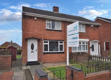Thumbnail 2 bedroom semi-detached house for sale in Greenshields Road, Grindon, Sunderland