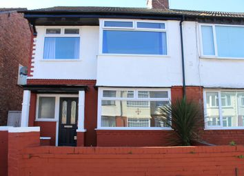 Thumbnail 3 bed semi-detached house to rent in Staley Avenue, Liverpool, Merseyside