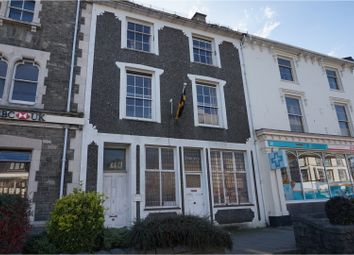 Thumbnail 4 bed terraced house for sale in High Street, Porthmadog