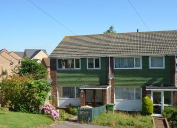 Thumbnail 3 bed end terrace house to rent in Gatehouse Close, Dawlish