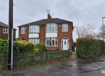 Thumbnail 3 bed semi-detached house to rent in Park Drive, Leicester Forest East