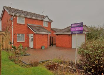 Thumbnail 3 bed detached house for sale in Peregrine Rise, Leicester