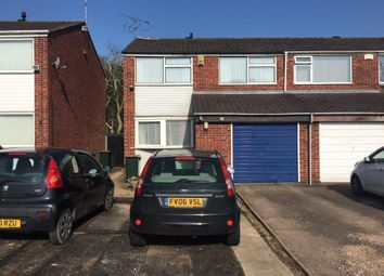 Thumbnail Property to rent in 9 Blandford Drive, Walsgrave