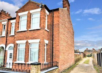 Thumbnail 3 bed end terrace house for sale in Poplar Avenue, Heacham, King's Lynn