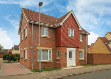 Thumbnail 4 bedroom detached house for sale in Signal Close, Henlow, Bedfordshire