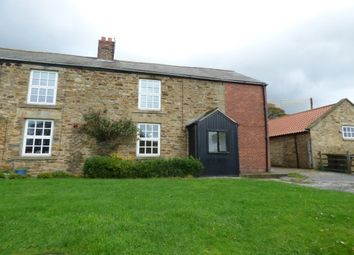 Thumbnail 3 bed farmhouse to rent in Brancepeth, Durham
