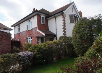 Thumbnail 2 bed flat for sale in Ovington Avenue, Bournemouth