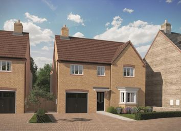 Thumbnail 4 bed detached house for sale in New Yatt Road, North Leigh, Witney