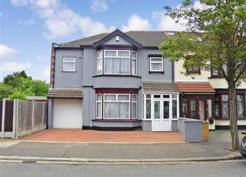 Thumbnail 4 bed end terrace house for sale in Mundon Gardens, Ilford, Essex