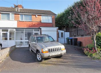 Thumbnail 3 bed semi-detached house for sale in Jill Avenue, Birmingham
