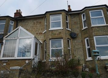 Thumbnail 2 bed terraced house for sale in Ocean View Road, Ventnor, Isle Of Wight.