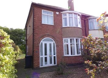 Thumbnail 3 bed semi-detached house for sale in Thurcaston Road, Leicester