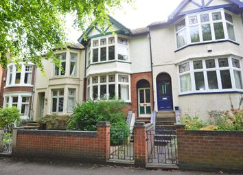 Thumbnail 4 bed terraced house for sale in Park Road, Rugby