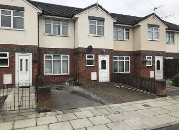 Thumbnail 3 bed town house for sale in Eastcroft Road, Wallasey