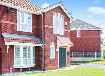 Thumbnail 3 bed end terrace house for sale in Saunby Close, Garston, Liverpool
