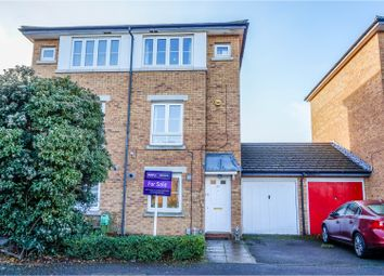 Thumbnail 3 bed semi-detached house for sale in Kathie Road, Bedford
