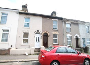 Thumbnail 2 bed terraced house to rent in Burgess Road, Rochester, Kent