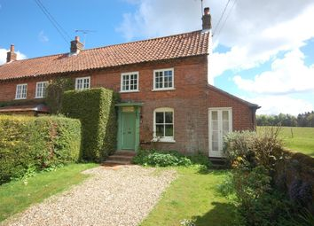 Thumbnail 1 bedroom cottage for sale in The Street, Swanton Novers, Melton Constable