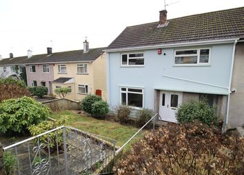 Thumbnail 3 bedroom end terrace house for sale in Conrad Road, Plymouth