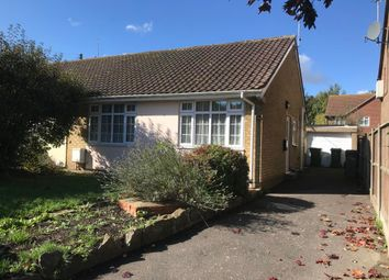 Thumbnail 2 bed semi-detached bungalow for sale in 68 Station Road, Lyminge, Folkestone, Kent