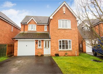 Thumbnail 4 bed detached house for sale in Cirencester Close, North Hykeham