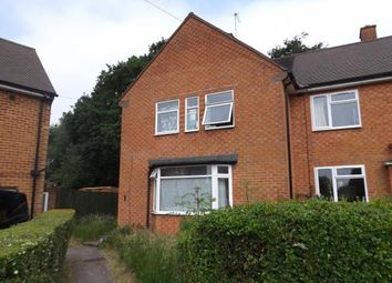 Thumbnail 3 bed end terrace house for sale in Arbury Hall Road, Shirley, Solihull, West Midlands