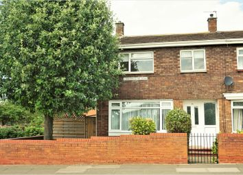 Thumbnail 3 bedroom end terrace house for sale in Kidderminster Road, Sunderland