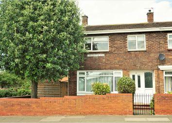 Thumbnail 3 bed end terrace house for sale in Kidderminster Road, Sunderland