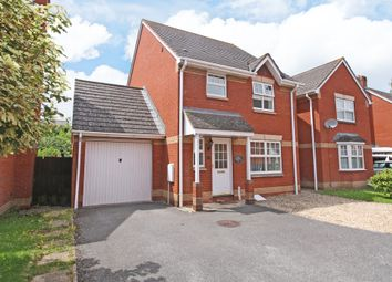 Thumbnail 3 bed detached house for sale in Knights Crescent, Exeter