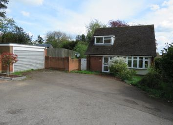 Thumbnail 3 bed detached bungalow for sale in Tamworth Road, Lichfield
