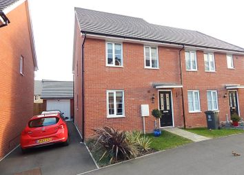 Thumbnail 3 bed semi-detached house for sale in St. Johns Lane, Papworth Everard, Cambridge
