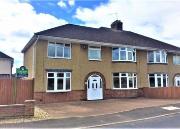 Thumbnail 5 bed semi-detached house for sale in Stanfield Road, Duston Village, Northampton