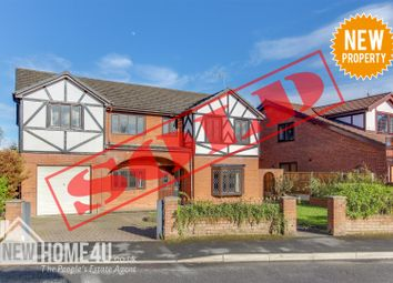 Thumbnail 6 bed detached house for sale in The Brackens, Buckley