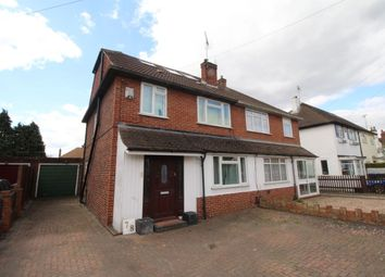 Thumbnail 4 bed semi-detached house for sale in Bridge Road, Chertsey