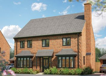 "Thumbnail 5 bed detached house for sale in ""The Lime"" at Field End, Witchford, Ely"