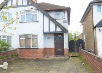 Thumbnail 3 bed semi-detached house to rent in Harvey Road, Hillingdon, Uxbridge, Middlesex