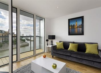 Thumbnail 2 bed flat for sale in Admirals Tower, 8 Dowells Street, Greenwich, London