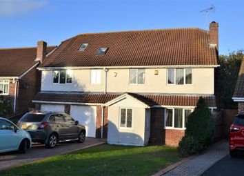 Thumbnail 4 bed detached house for sale in Cheviot Close, Eastbourne