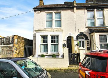 Thumbnail 2 bed end terrace house for sale in Holcombe Road, Rochester, Kent