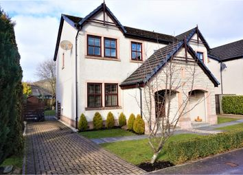 Thumbnail 3 bed semi-detached house for sale in Wallacehill Way, Peebles