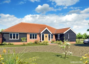 Thumbnail 3 bed detached bungalow for sale in Down Mill Drive, Sporle