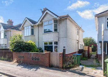 Thumbnail 2 bedroom semi-detached house for sale in Bursledon Road, Southampton