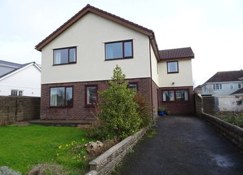 Thumbnail 4 bed detached house for sale in Danygraig Avenue, Porthcawl