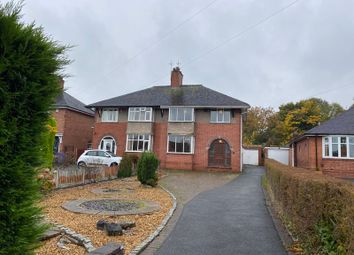 Thumbnail 3 bed semi-detached house for sale in Drubbery Lane, Blurton, Stoke-On-Trent, Staffordshire