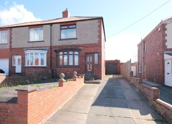 Thumbnail 2 bed semi-detached house for sale in The Avenue, Coxhoe, Durham
