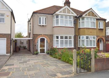 Thumbnail 4 bed semi-detached house for sale in Ruskin Drive, Worcester Park