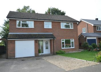 Thumbnail 4 bed detached house for sale in Keys Drive, Wroxham, Norwich