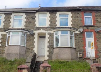 Thumbnail 3 bed terraced house for sale in Chepstow Road, Treorchy, Rhondda, Cynon, Taff.